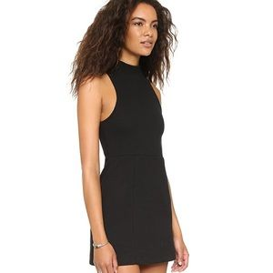 Free People Mary Jane Fit Flare Ribbed Knit Dress